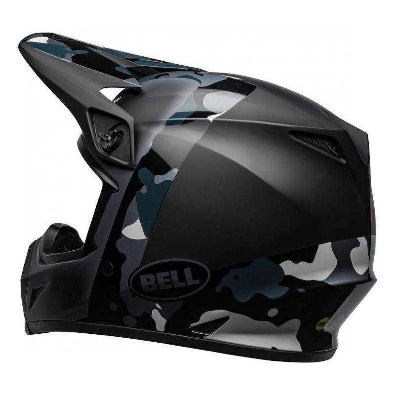 Casque cross Bell MX 9 Mips Presence Camo titanium/noir - 7