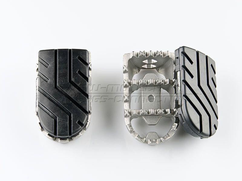 cale pieds sw motech acier inoxydable paire pi ces partie cycle sur la b canerie. Black Bedroom Furniture Sets. Home Design Ideas