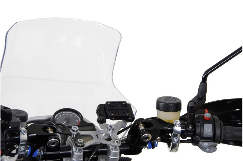 Clip adaptateur SW-MOTECH pour GPS noir - 2