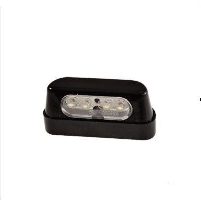 clairage de plaque tun 39 r a led noir pi ces car nage sur la b canerie. Black Bedroom Furniture Sets. Home Design Ideas