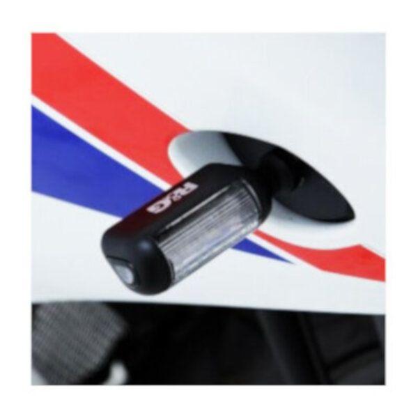 Clignotants LED R&G Racing Aero noir (paire)