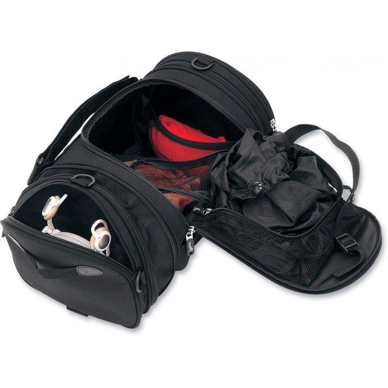 Sacoche de sissy bar Saddlemen R1300LXE Deluxe Roll Bag noire - 3
