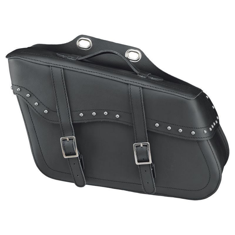 Sacoches latérales Held Cruiser Drop Bag noir avec rivets