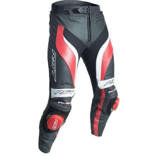 Pantalon cuir RST Tractech Evo 3 rouge