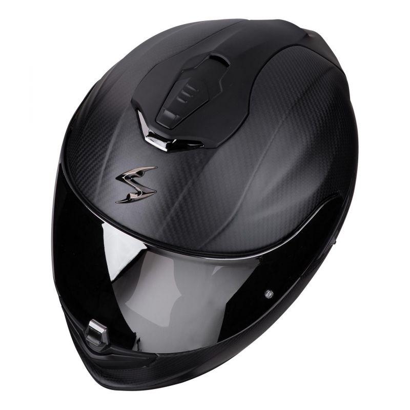 Casque intégral Scorpion Exo-1400 Air Carbon Solid Mat noir - 1