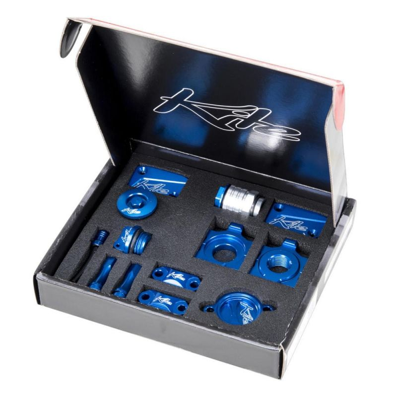 Pack accessoires Kite Yamaha 250 YZ 08-17 bleu
