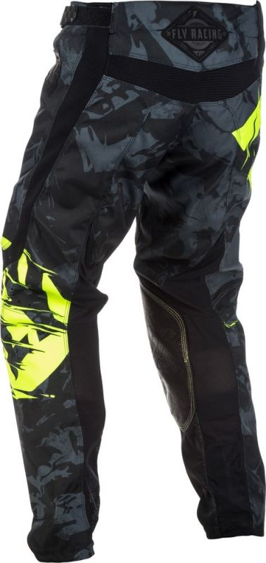 Pantalon cross Fly Racing Kinetic Outlaw noir/jaune fluo - 2