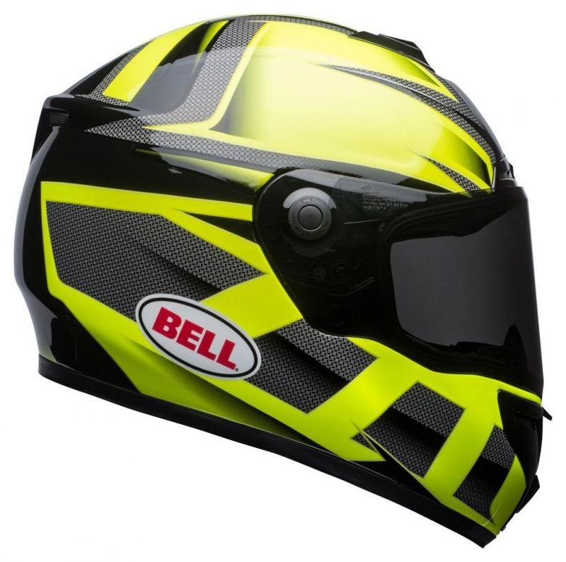 Casque intégral Bell SRT Predator vert/noir - 3
