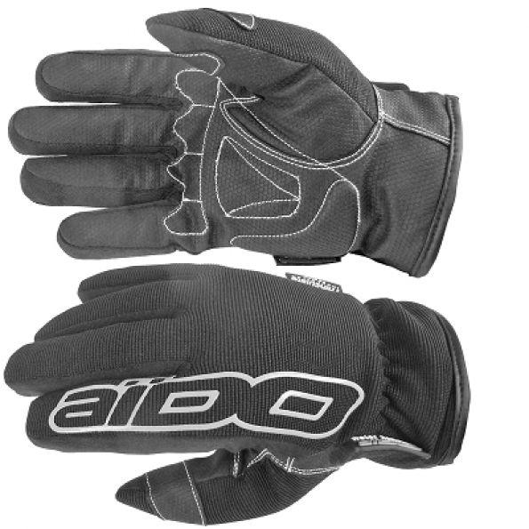 gants aido a100 hiver noir tanche eau et froid quipement route sur la b canerie. Black Bedroom Furniture Sets. Home Design Ideas
