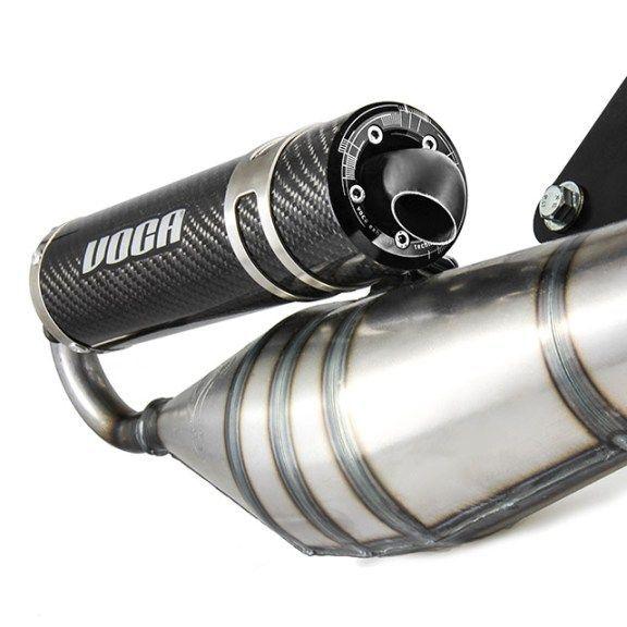 Pot d'échappement Voca Sabotage V2 50/70 Carbone Minarelli vertical - 2