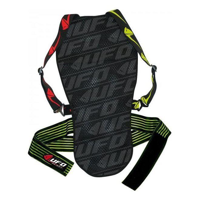 Protection dorsale UFO Kombat rouge/jaune - 3