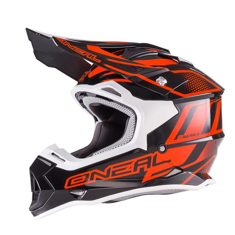 Casque cross O'Neal 2 Series Evo Manalishi noir/orange