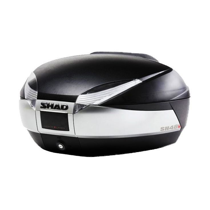 Top case SHAD SH48 Noir/Titanium