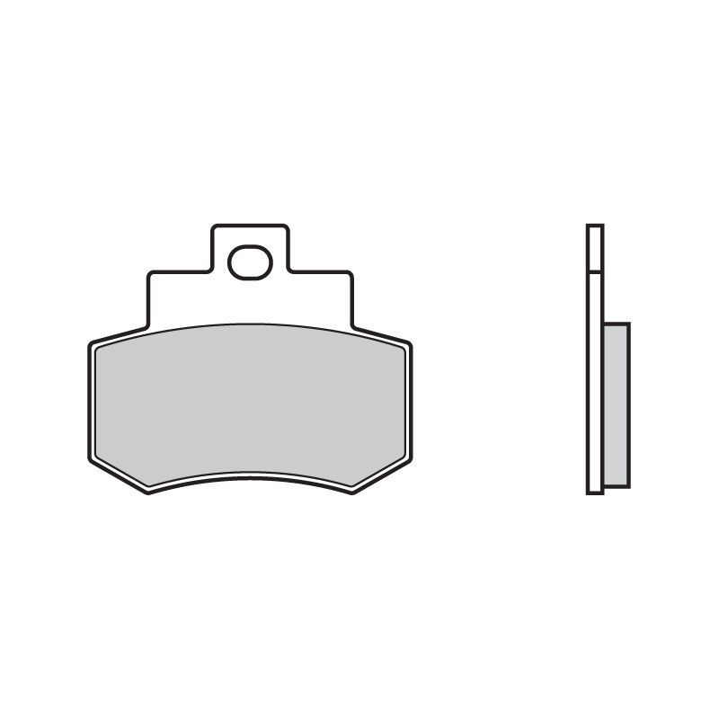 plaquettes de frein brembo 07051cc carbone c ramique arri re pi ces freinage sur la b canerie. Black Bedroom Furniture Sets. Home Design Ideas