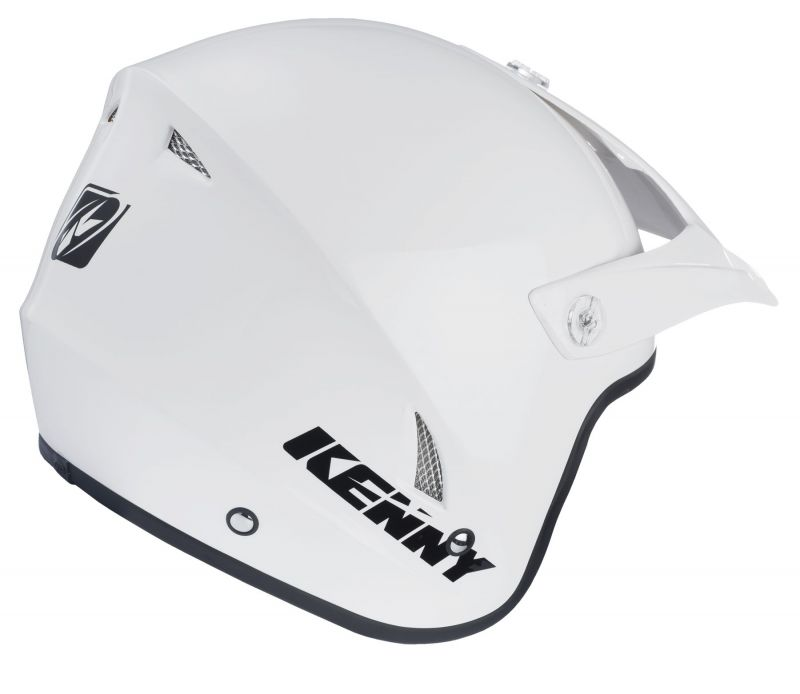 Casque Kenny Trial Up Solid Blanc - 1