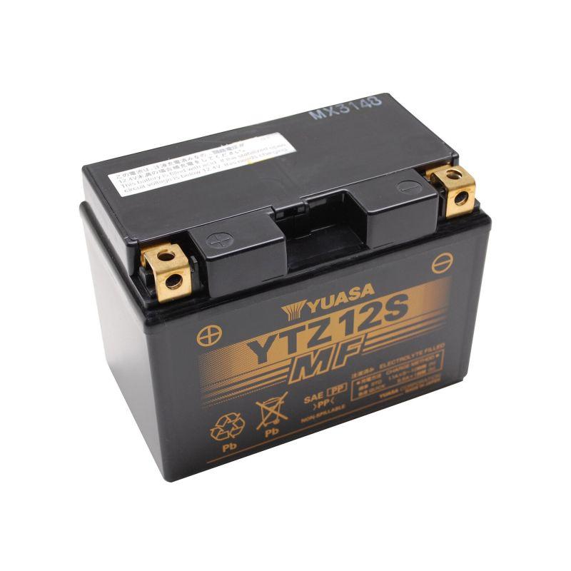 batterie gel yuasa ytz12s 12v 11ah pi ces electrique sur la b canerie. Black Bedroom Furniture Sets. Home Design Ideas