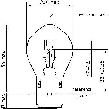 Ampoule Philips S2 standard - 1