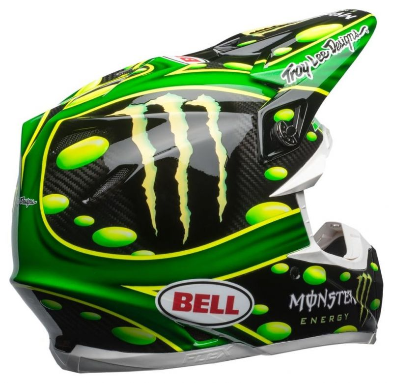 Casque cross Bell Moto 9 Flex MC Grath Monster Replica 18.0 Gloss - 2