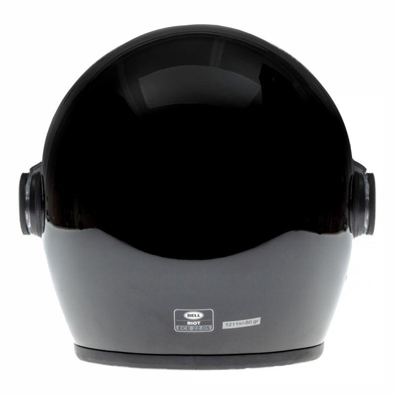 Casque jet Bell Riot noir - 4