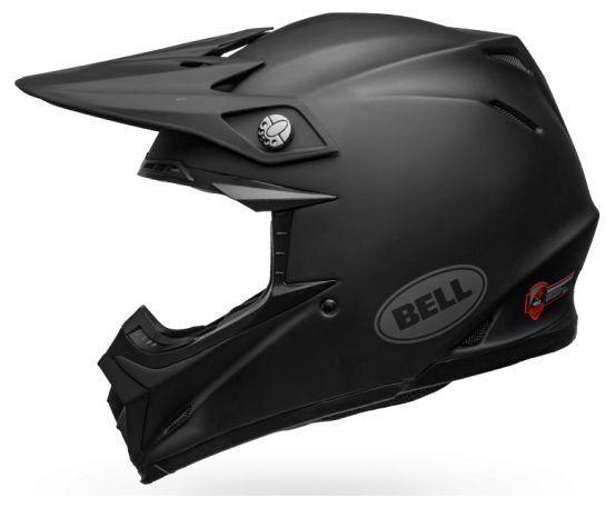 Casque cross Bell Moto 9 Mips Intake Matte noir - 1