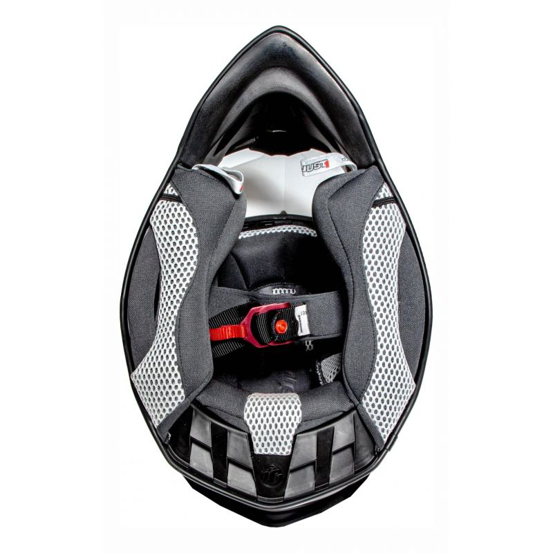Casque cross Just1 J12 Solid blanc - 5