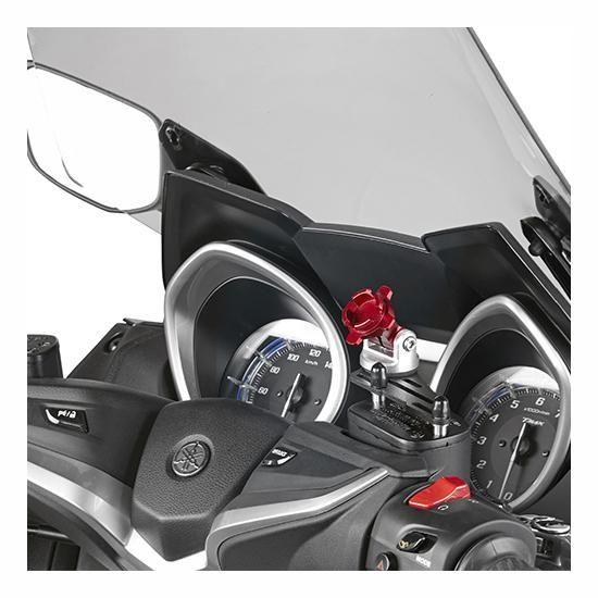 Support smartphone/GPS Givi sur bocal de frein - 1