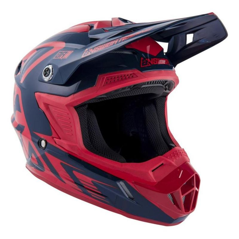 Casque cross Answer AR1 Edge midnight/bright red - 1