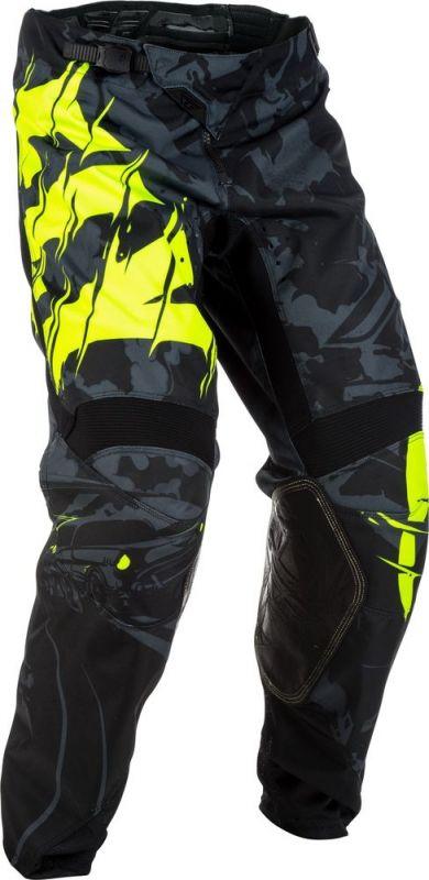Pantalon cross Fly Racing Kinetic Outlaw noir/jaune fluo
