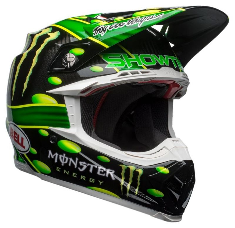 Casque cross Bell Moto 9 Flex MC Grath Monster Replica 18.0 Gloss - 8