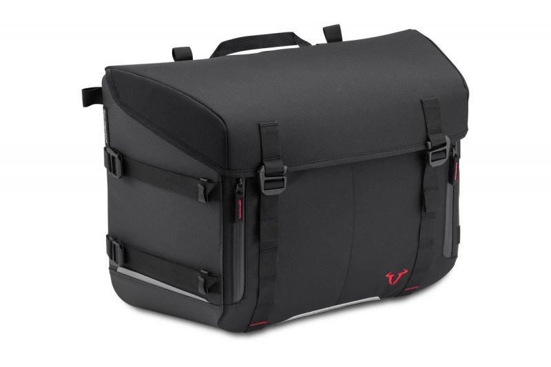 sacoche sw motech sysybag 30 noire grise pi ces bagagerie sur la b canerie. Black Bedroom Furniture Sets. Home Design Ideas