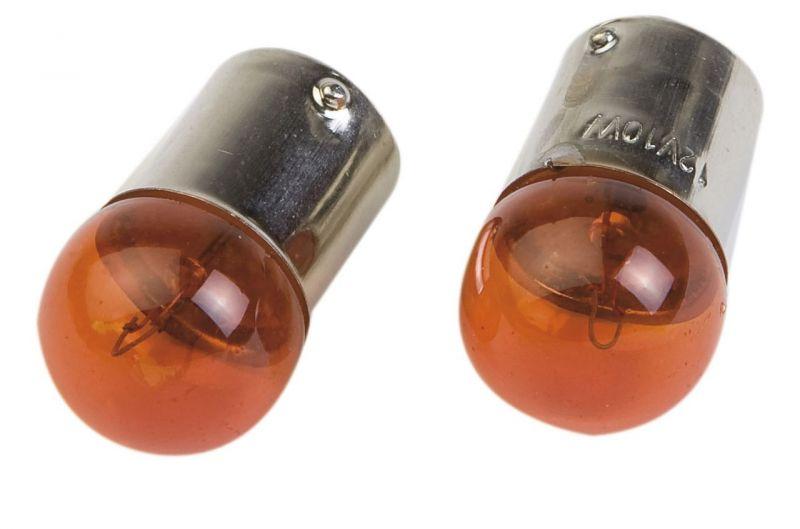 Ampoule ba15s p10w 12v 10w orange pi ces electrique sur - Ampoule 12v 10w ...
