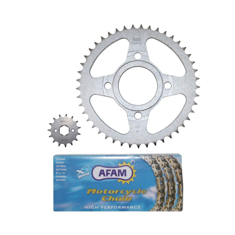 Kit chaîne Afam 15x45 Daelim 125 Daystar 08-11