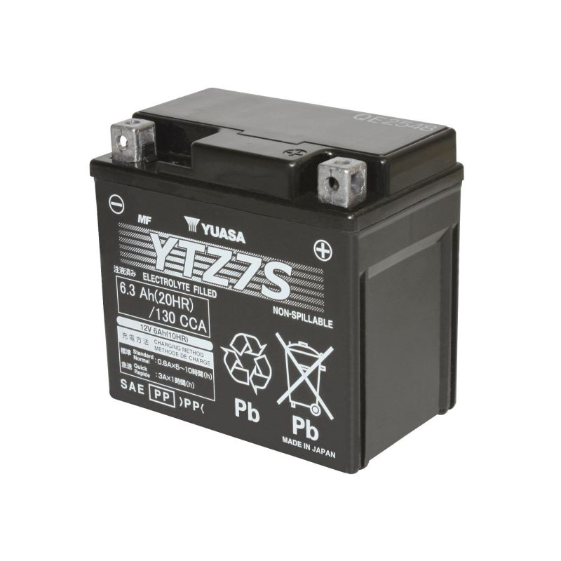 Batterie Gel Yuasa YTZ7S 12V 6Ah