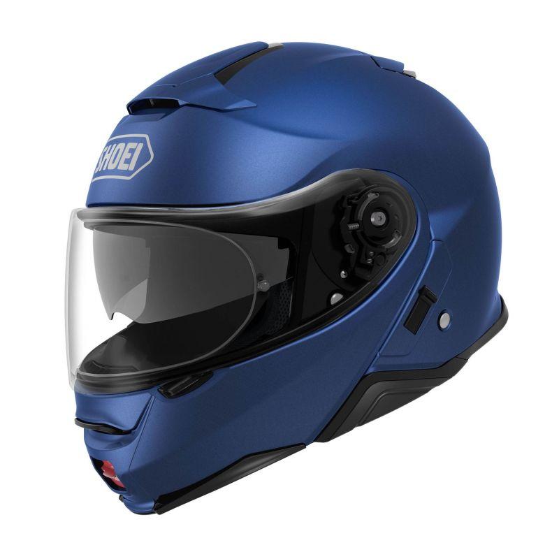 Casque Modulable Shoei Neotec Ii Bleu Mat Casques Moto Sur La