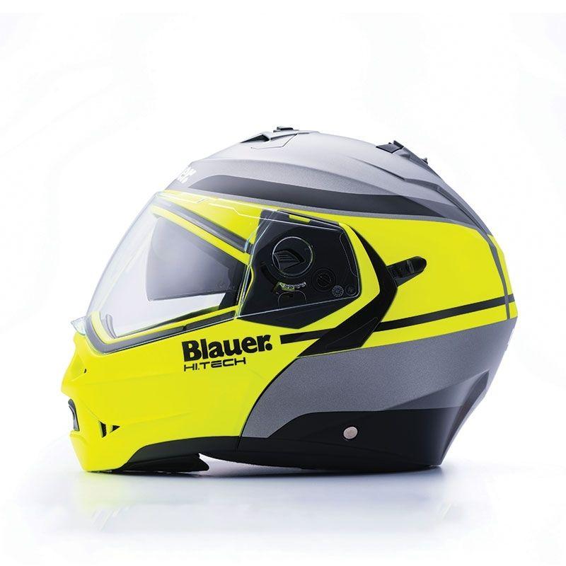 Casque modulable Blauer Sky II jaune/gris mat - 2
