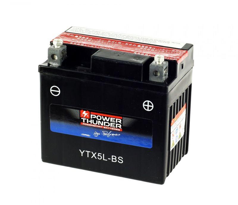 Batterie Power Thunder YTX5L-BS 12V 4Ah