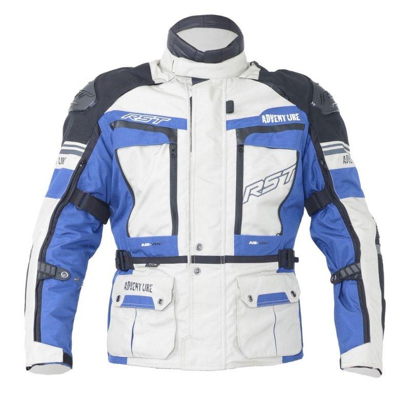 Veste textile RST Pro Serie Adventure III bleu