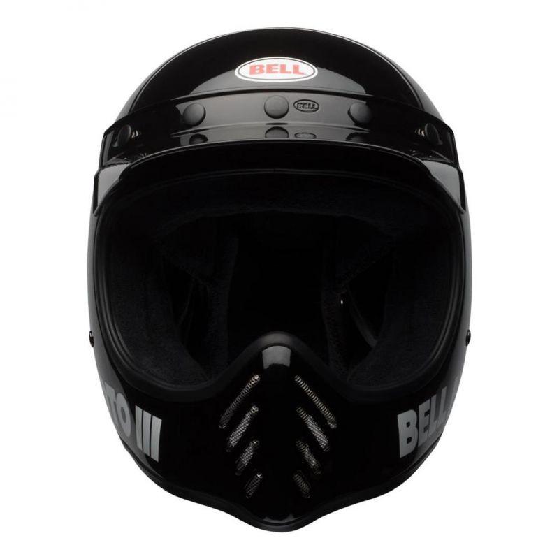 Casque Bell Moto 3 Classic noir - 4