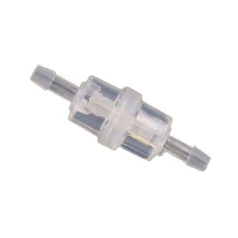 Filtre à essence cylindrique transparent Ø6
