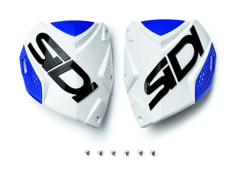 Plaque tibiale Sidi Crossfire 2 Blanc/Bleu
