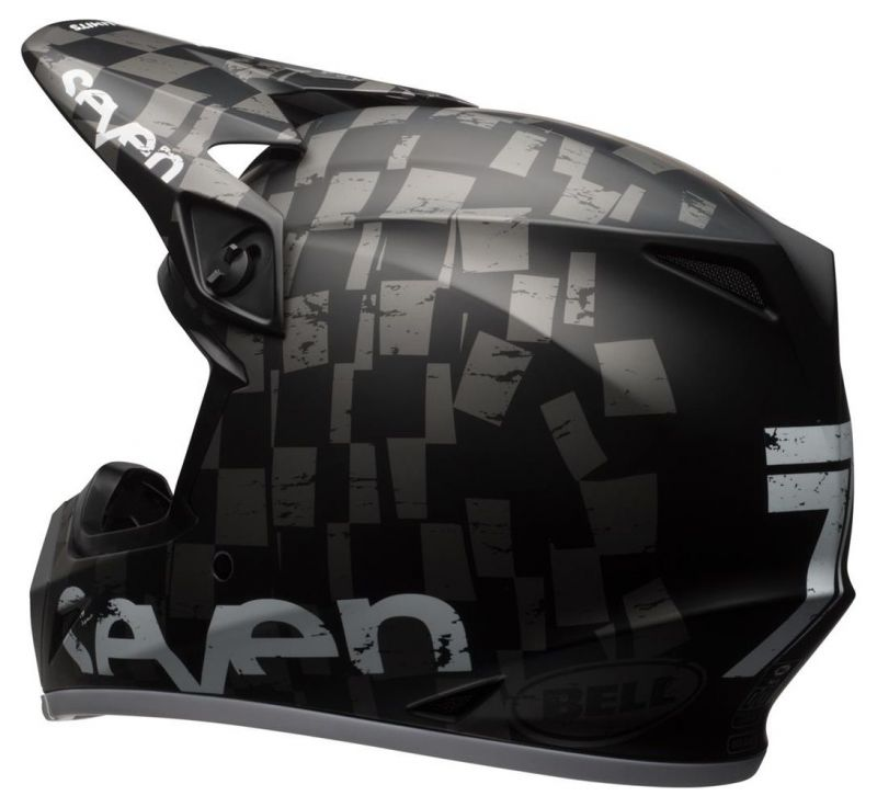 Casque cross Bell MX 9 Seven Checkmate - 5