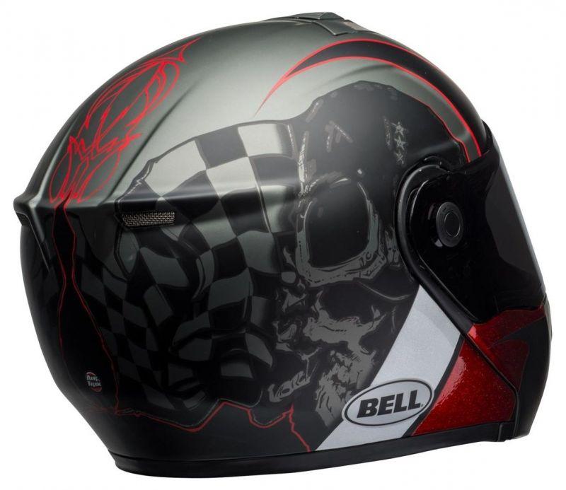 Casque intégral Bell SRT Modular Hart-Luck Skull - 1