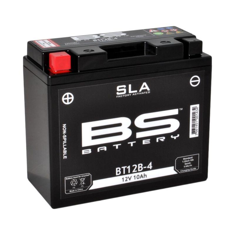 batterie moto wp12 bs etanche au gel 12v / 10ah