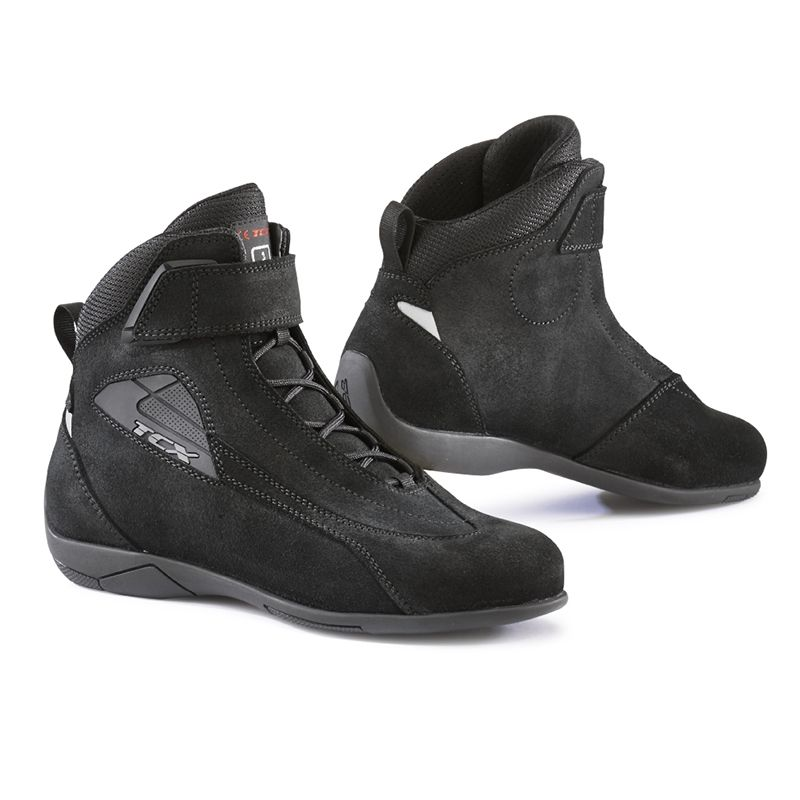 chaussures moto femme tcx lady sport noir quipement route sur la b canerie. Black Bedroom Furniture Sets. Home Design Ideas
