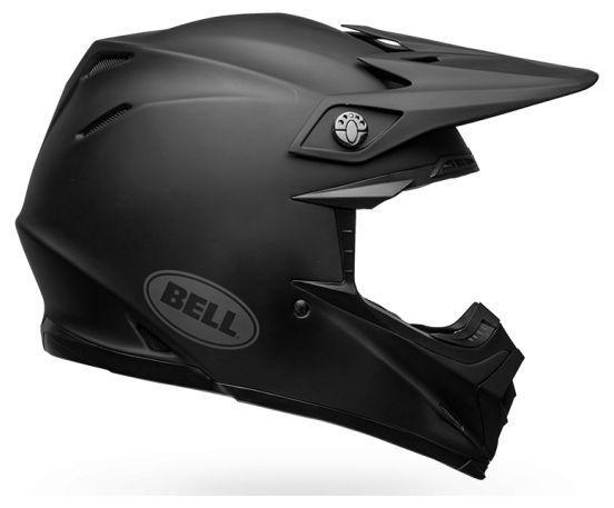 Casque cross Bell Moto 9 Mips Intake Matte noir - 5