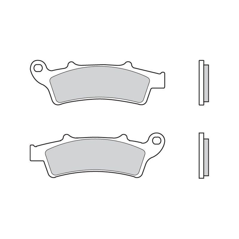 plaquettes de frein brembo 07045cc carbone c ramique avant pi ces freinage sur la b canerie. Black Bedroom Furniture Sets. Home Design Ideas