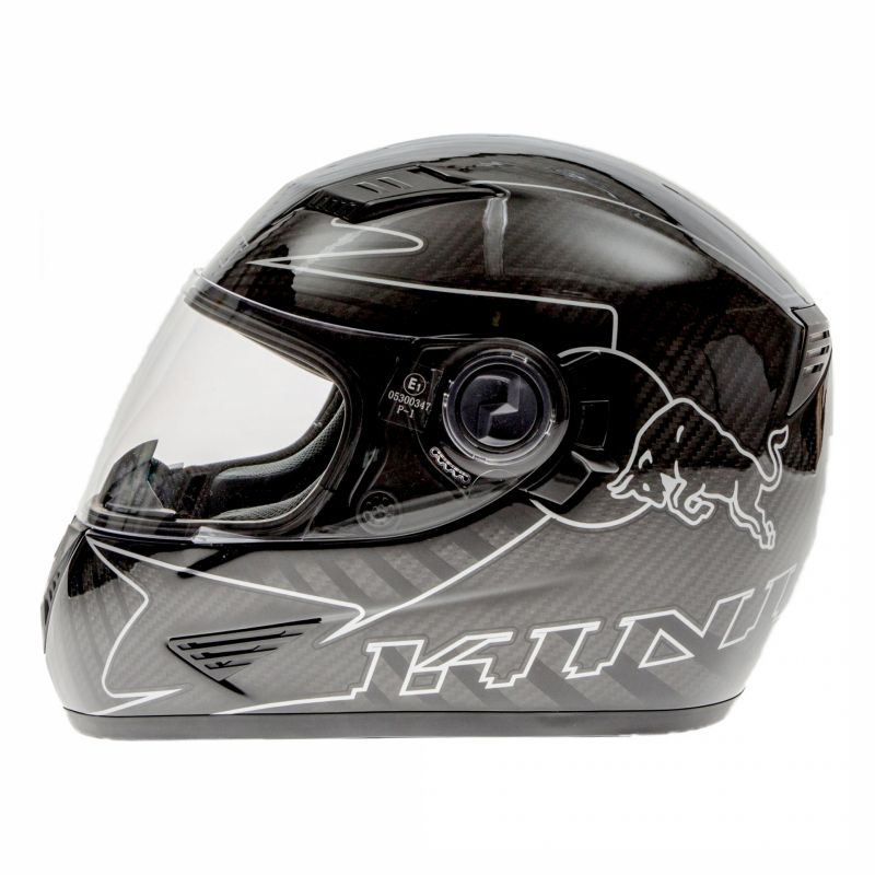 Casque intégral Kini Red Bull Road carbone - 1