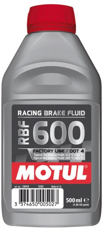 Liquide de frein Motul RBF600 Factory Line 500ml
