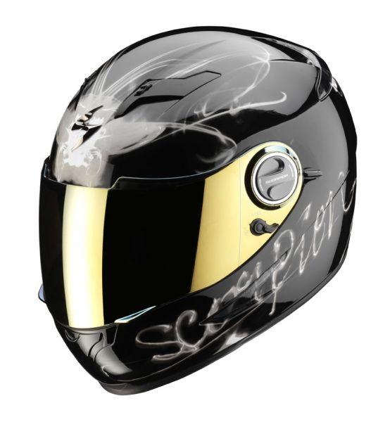 casque int gral scorpion exo 500 air ardent noir titanium casques moto sur la b canerie. Black Bedroom Furniture Sets. Home Design Ideas