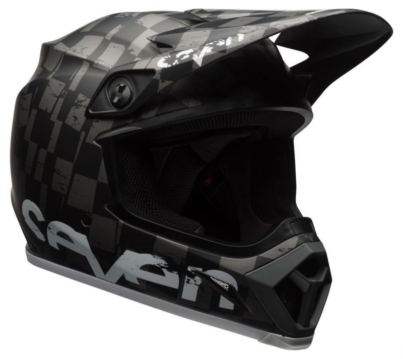 Casque cross Bell MX 9 Seven Checkmate - 1